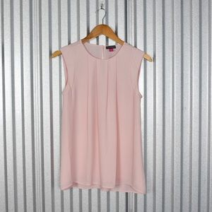 Vince Camuto Blush Pink Sleeveless Blouse